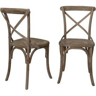 Madison Solid Wood Dining Chair (Set of 2) by The Bella Collection