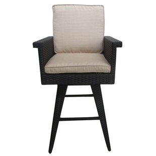 Sprouse Outdoor Wicker Barstools by Brayden Studio