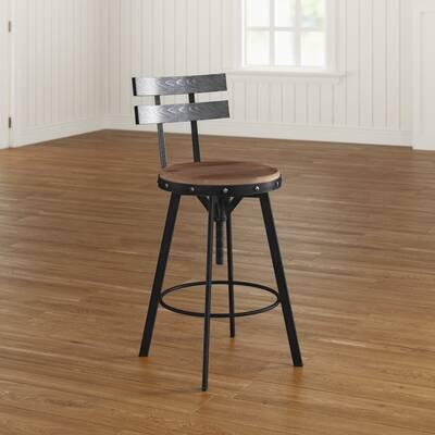 04f3b042f69 Julianna Adjustable Height Swivel Bar Stool   Reviews