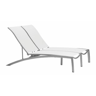 South Beach Double Reclining Chaise Lounge by Tropitone