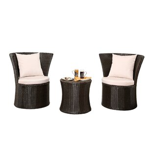 Burleigh 3 Piece Bistro Set (Set of 3)