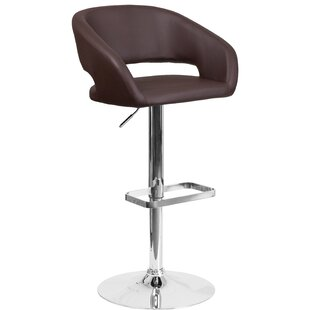 Nolte Adjule Height Swivel Bar Stool