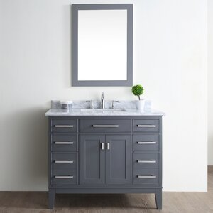 Danny 42″ Single Bathroom Vanity Set
