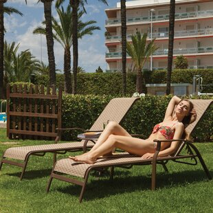 Panama Jack Outdoor Island Breeze Sling 3 Piece Chaise Lounge Set