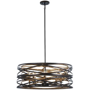 Minka Lavery Vortic Flow 8-Light Geometric Pendant