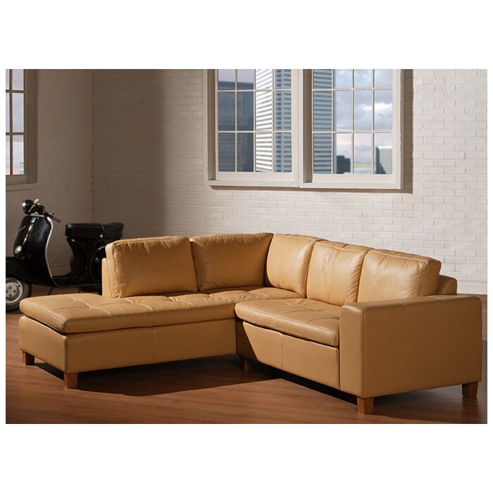 Swell Nil Leather Sectional Gmtry Best Dining Table And Chair Ideas Images Gmtryco