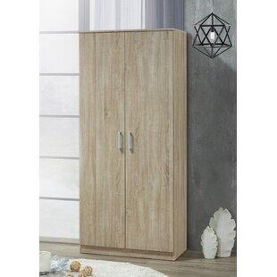 Deitz 2 Door Corner Wardrobe By Natur Pur
