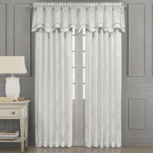 Caulkins Damask Room Darkening Rod Pocket Single Curtain Panel by House of Hampton