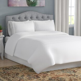 Cullen Embroidered 3 Piece Duvet Cover Set