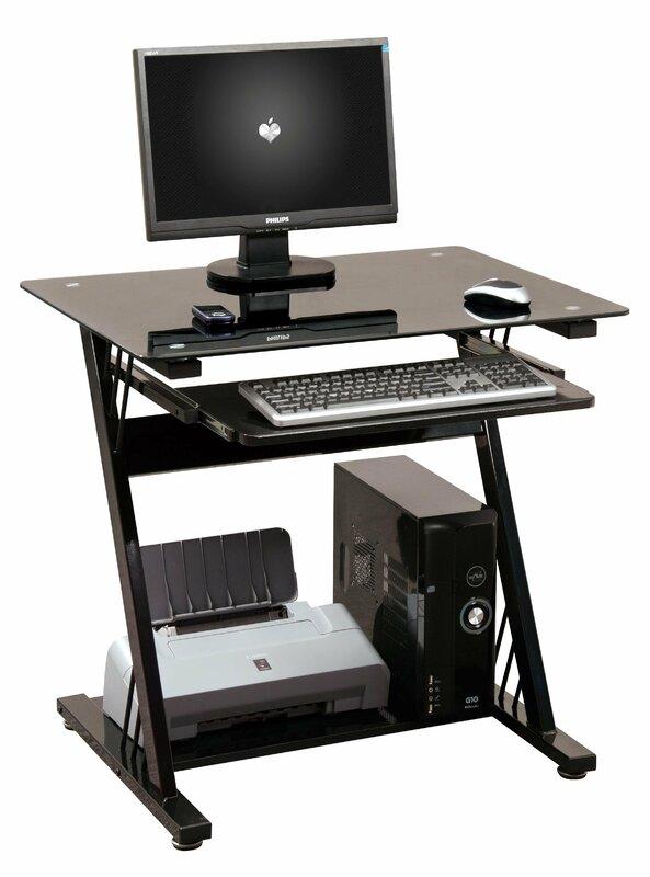 computer tisch computertisch mit tastaturauszug ebay kleinanzeige