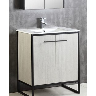 Best Reviews Bourgoin 30 Single Bathroom Vanity Set By Wrought Studio