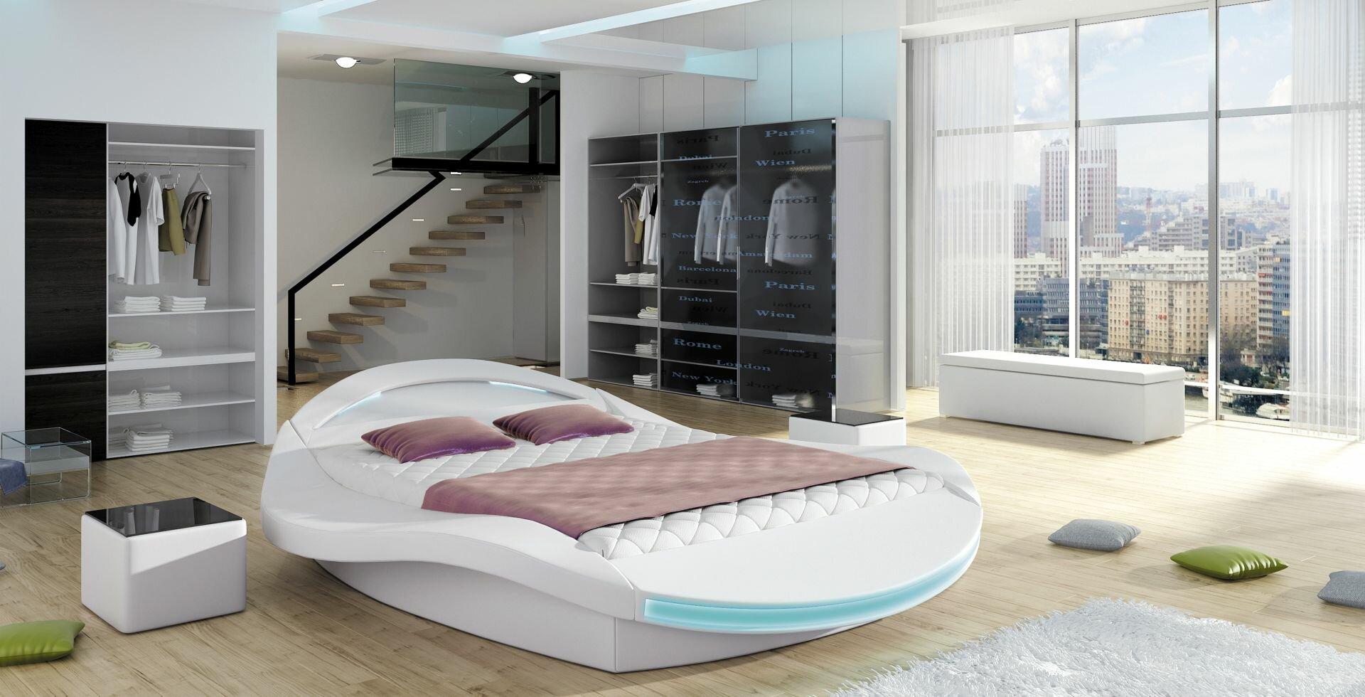 Orren ellis borgholm modern upholstered storage platform bed wayfair