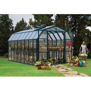 Rion Greenhouses Grand Gardener 2 Clear 8 Ft. W x 16 Ft. D Greenhouse