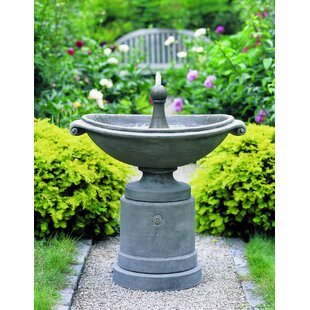 Campania International Medici Concrete Ellipse Fountain