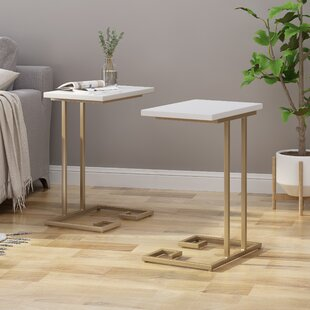 Read Reviews Kolb Modern Glam 2 Piece End Tables (Set of 2) by Mercer41
