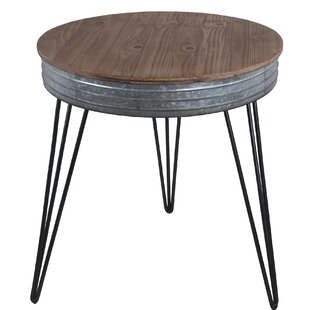 Herrera End Table by Williston Forge