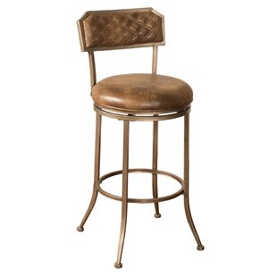 Aarons 30'' Swivel Bar Stool by Loon Peak