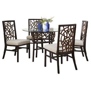 Trinidad 5 Piece Dining Set Panama Jack Sunroom