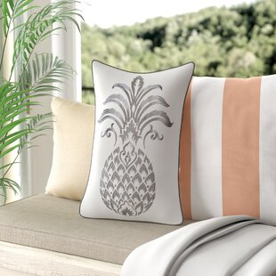 Java Pineapple Decorative Cotton Lumbar Pillow