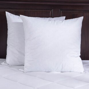 Price comparison Bed Insert Feathers Pillow (Set of 2) By Puredown