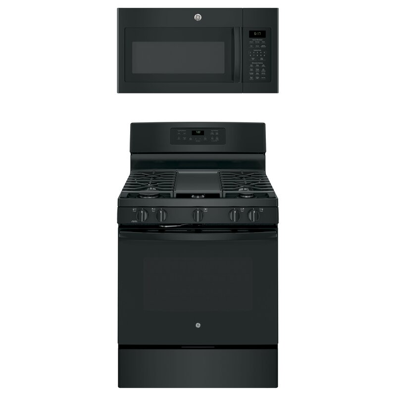 GE Appliances 2 Piece Kitchen Package with 30 ...