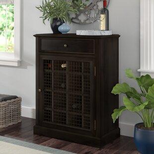 Biali 16 Bottle Floor Wine Cabinet by Darby Home Co