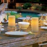 Premier All-Weather Wax Flameless Pillar Candle