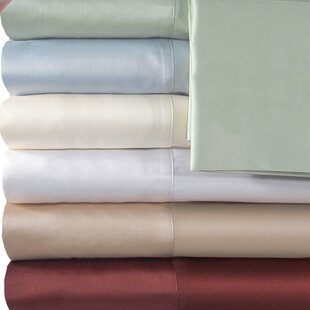 Supreme Sateen 500 Thread Count Solid Sheet Set By Veratex, Inc.