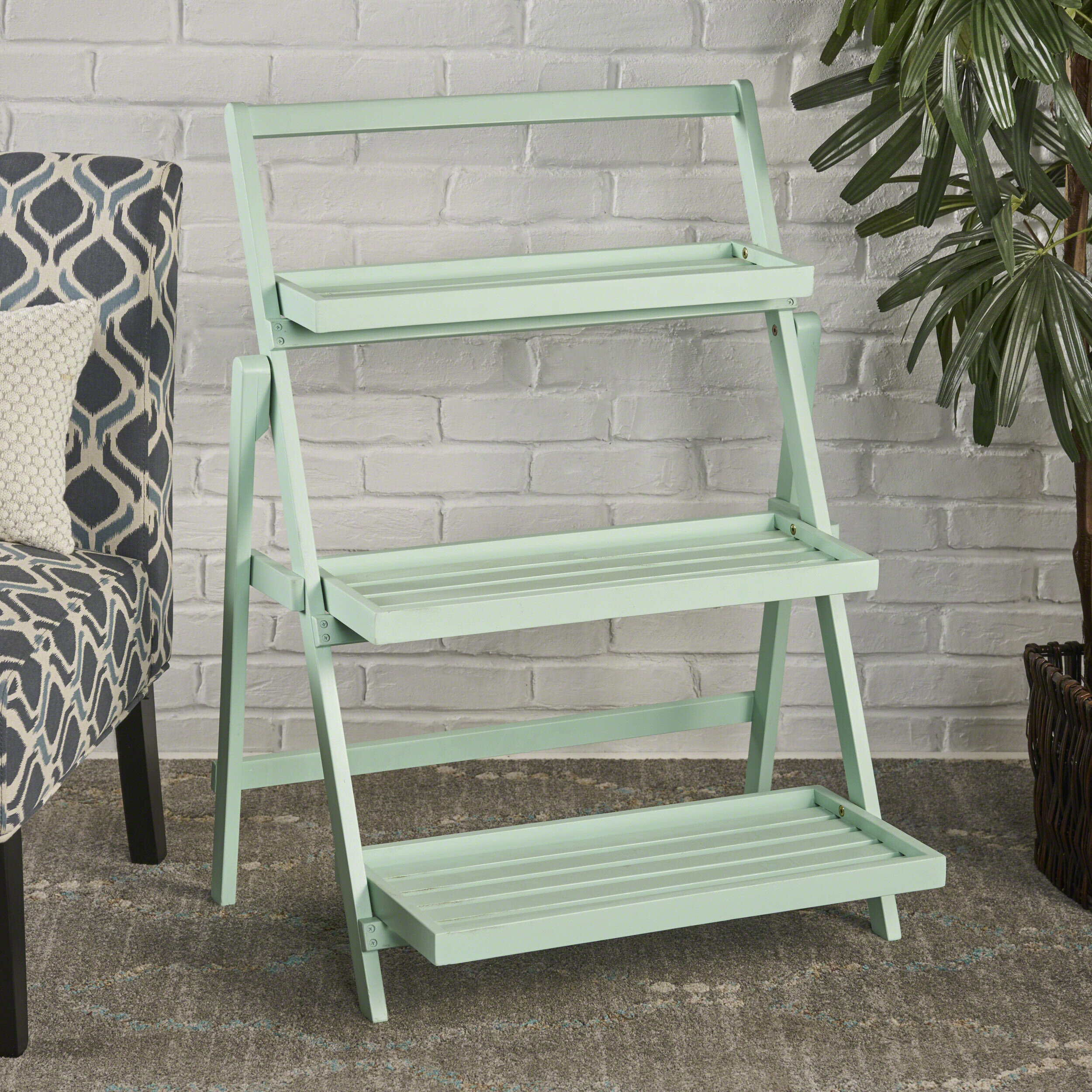 Fenimore Indoor Multi Tiered Plant Stand Reviews Birch Lane