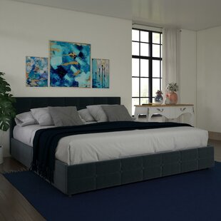 Houchins Upholstered Storage Platform Bed by Winston Porter