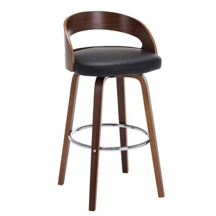 Adeline 28.2 Swivel Bar Stool (Set of 2) Turn on the Brights