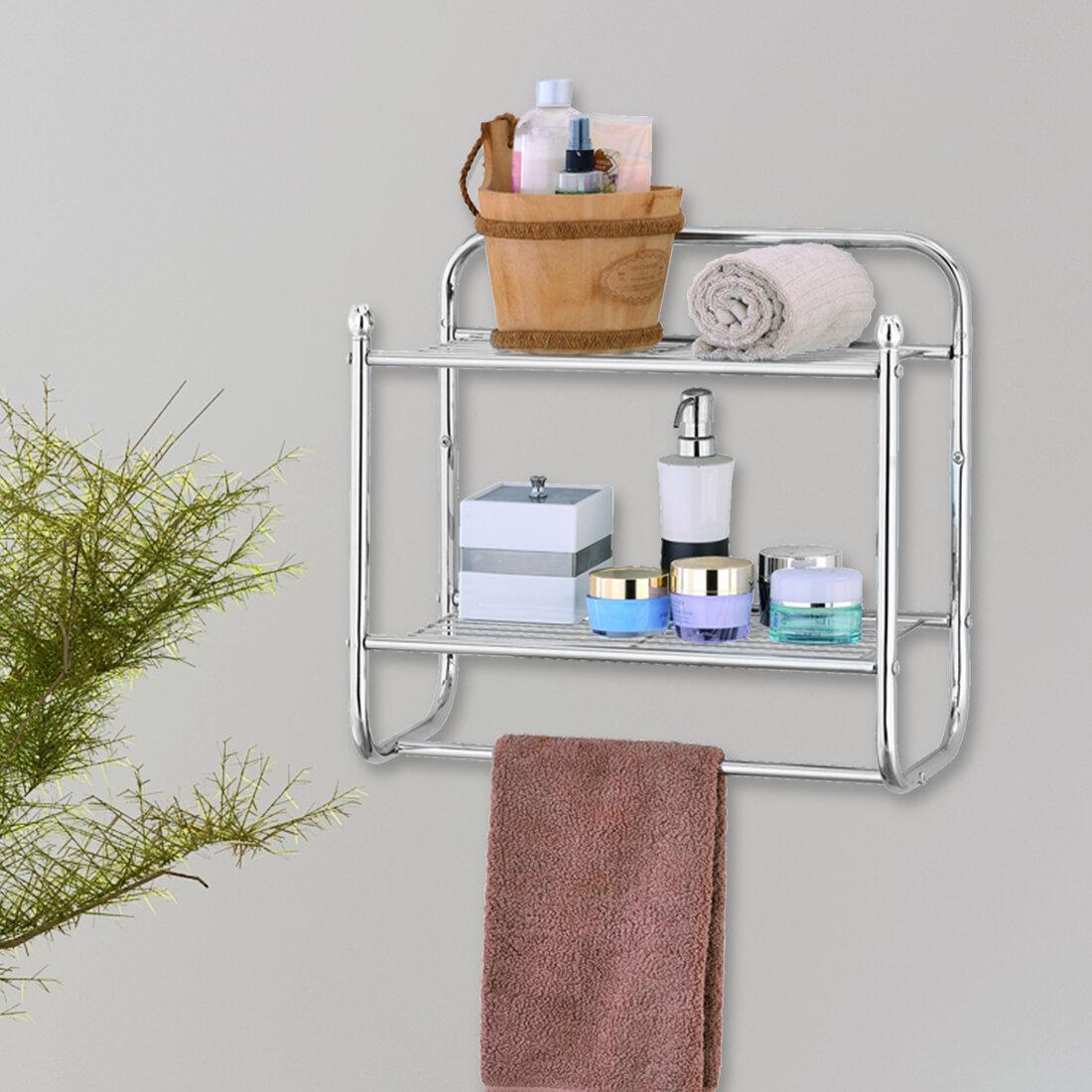 Rebrilliant Cavazos Wall Mounted Towel Rack & Reviews | Wayfair