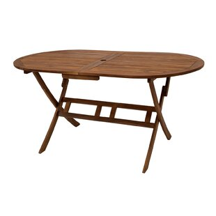 Review Pistache Folding Dining Table