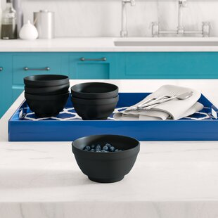 Mclellan 17 oz. Unbreakable Melamine Dining Bowl (Set of 6)