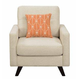 Brayden Studio Isidro Upholstered Armchair