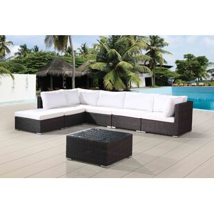 DeSoto 7 Piece Sectional Seating Group With Cushions
