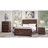 Durr Platform Solid Wood 4 Piece Bedroom Set by Millwood Pines