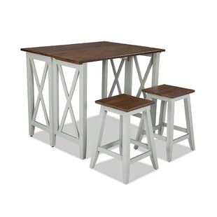 Small Space Living 3 Piece Pub Table Set by Imagio Home Intercon No Copoun