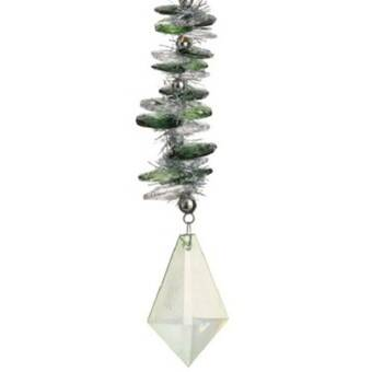 Holographic Christmas Tree.Holographic Christmas Drop Ornament
