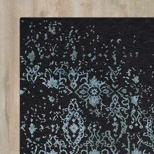 Buecker Blue/Black Area Rug By Bloomsbury Market