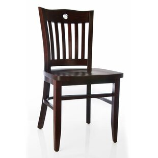 Herzig Solid Wood Dining Chair (Set of 2) Winston Porter