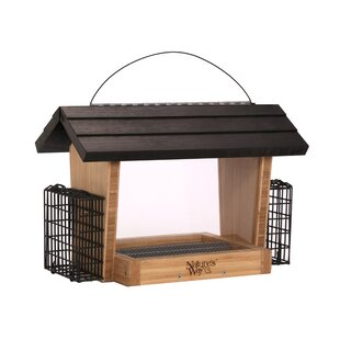 Nature's Way 6-Qt Suet Bird Feeder