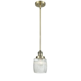 Breakwater Bay Mireya 1-Light Cylinder Pendant