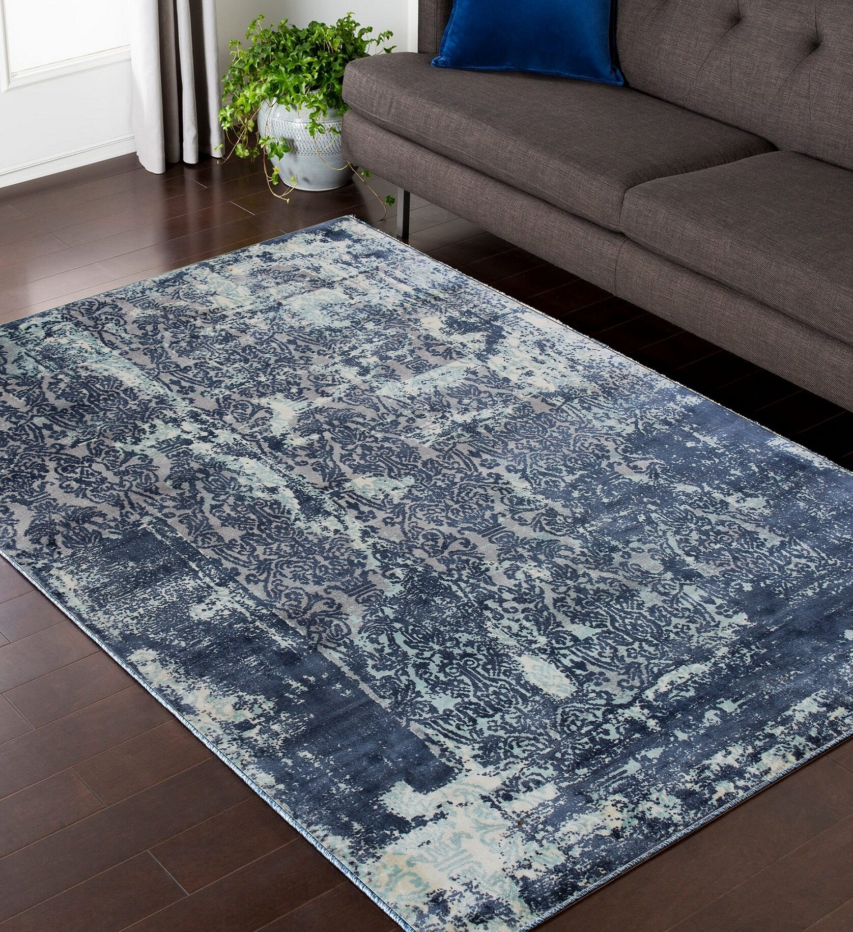 Blue Homesteadelements Area Rugs You Ll Love In 2021 Wayfair
