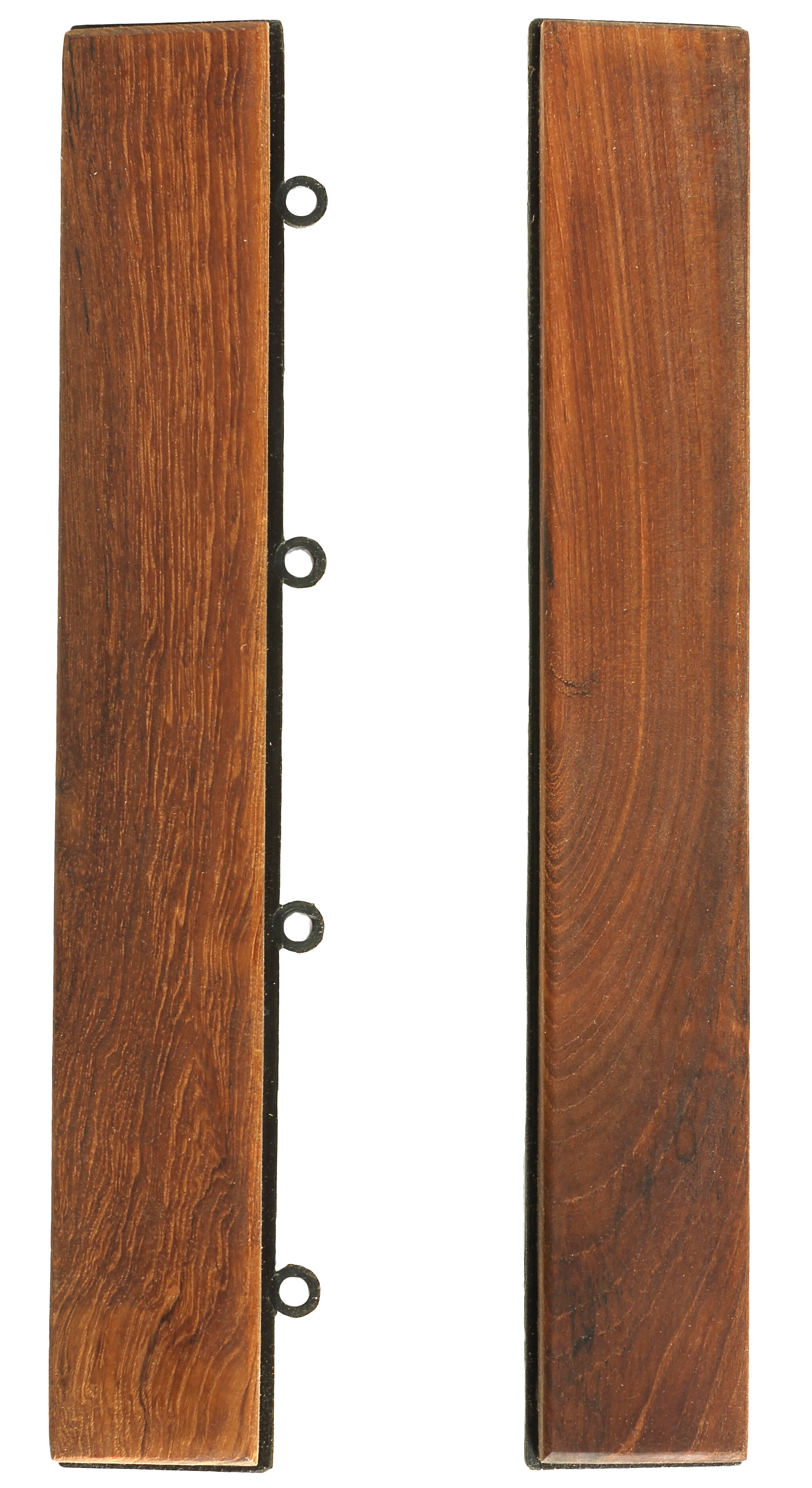 Baredecor Ez Floor 1 X 12 End Tile Trim In Teak Reviews Wayfair