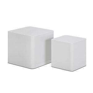 2-tlg. Satztisch-Set Cube von Castleton Home