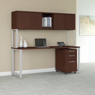 400 Series 3 Piece Desk Office Suite by Bush Business Furniture