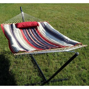 Kettner Polyester Quilted Hammock Pad and Pillow Set