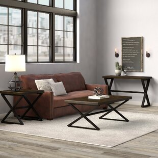 Remillard 3 Piece Coffee Table Set