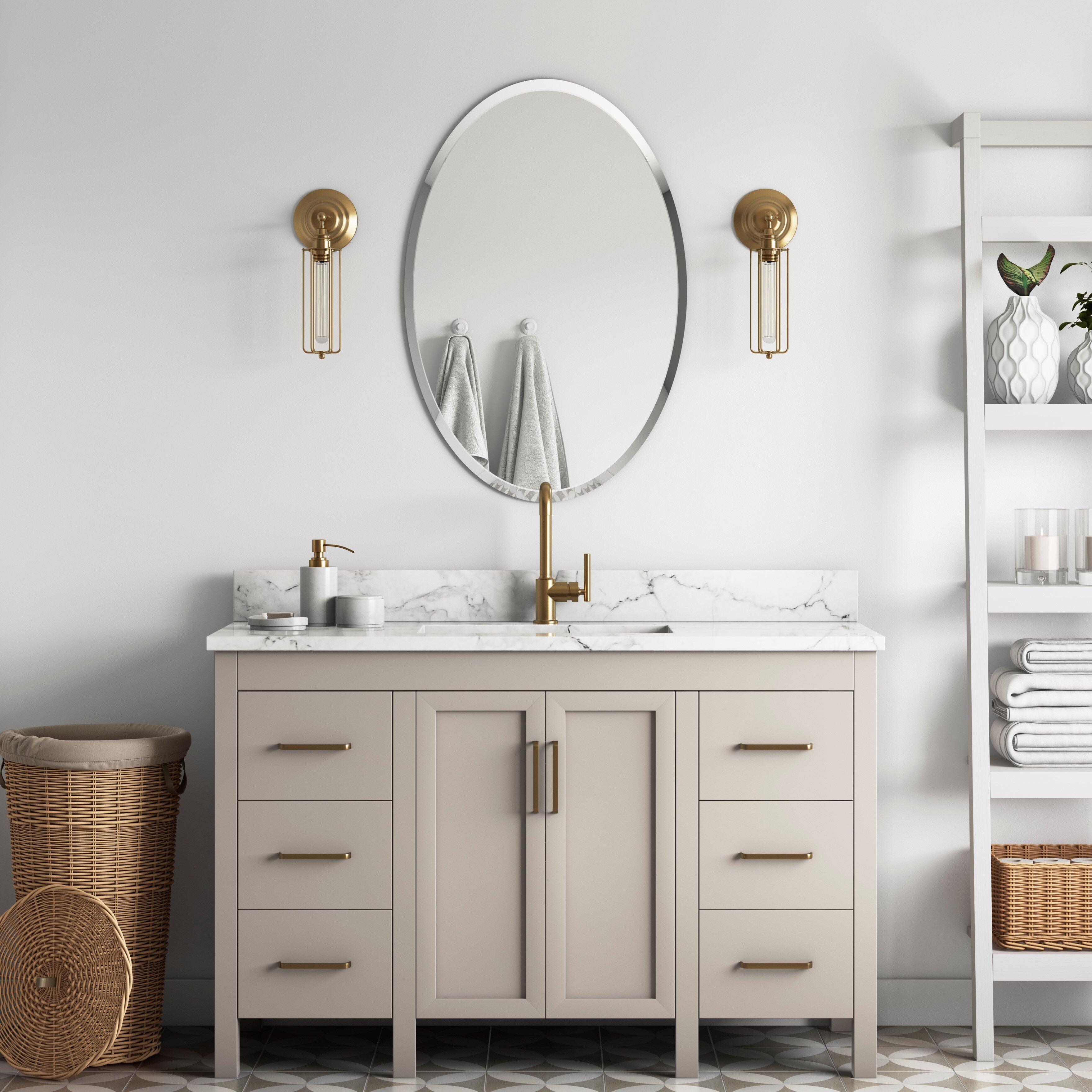 Oval Bathroom Mirrors You Ll Love In 2021 Wayfair
